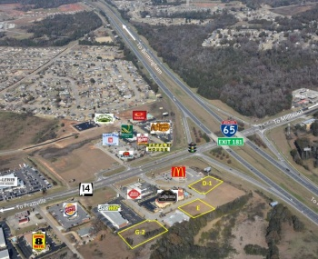 Highway 14 and I-65, Prattville, ,Commercial,For Sale,Highway 14 and I-65,1042